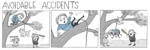 Pinata storyboard by Mari Collins
